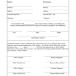 Bill Of Sale Fill Out And Sign Printable PDF Template
