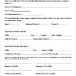 Bill Of Sale Template 15 Free Word PDF Documents