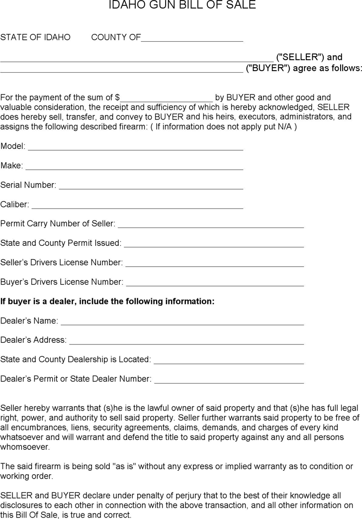 Bill Of Sale Template Free Template Download Customize