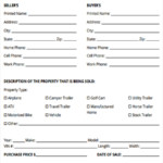 FREE 5 Horse Bill Of Sale Forms In PDF