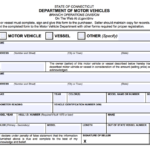 Free Connecticut Bill Of Sale Forms PDF EForms Free