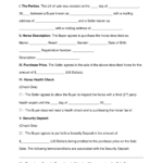 Free Horse Bill Of Sale Form Word PDF EForms Free