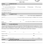 Free Printable Bill Of Sale For RV Form GENERIC