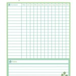 FREE PRINTABLE Bill Payment Tracker From Spring Home