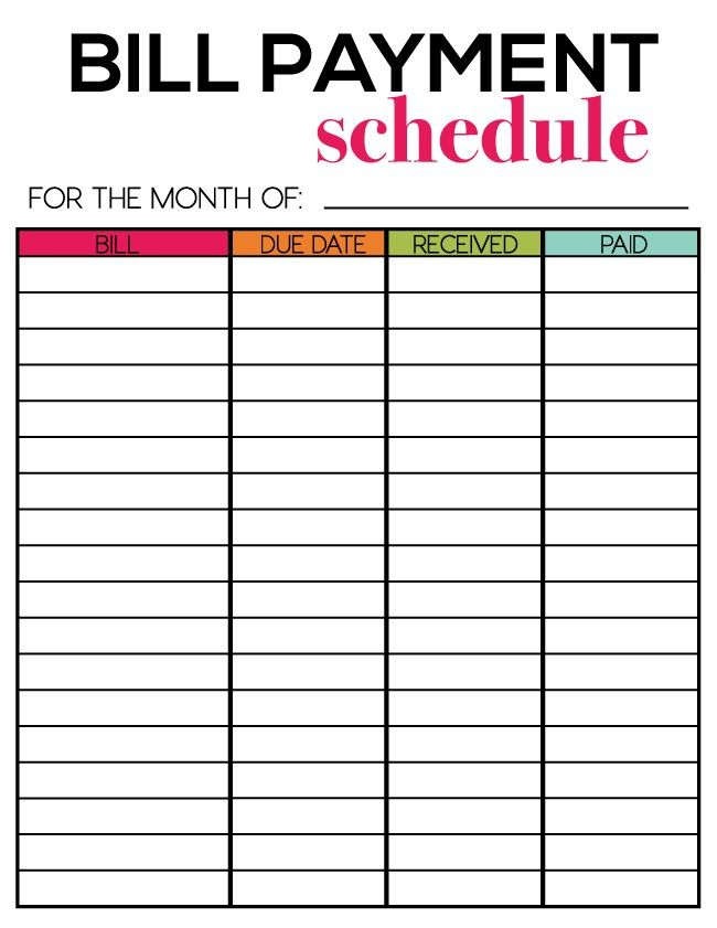 Free Printables For Newsletter Subscribers Budgeting