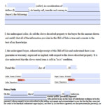 Free Virginia Personal Property Bill Of Sale Form PDF