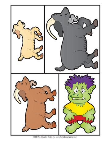Three Billy Goats Gruff Clipart At GetDrawings Free Download