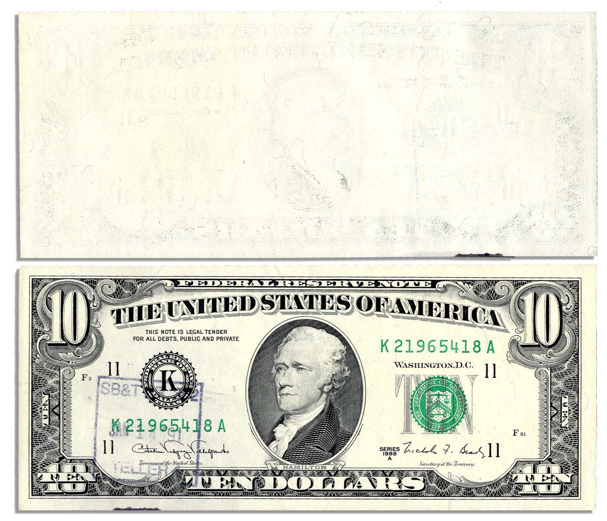 Federal Reserve Note Wikipedia Free Printable Million