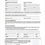 FREE 28 Sample Bill Of Sale Forms In PDF Ms Word