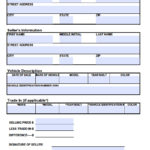 Free Tennessee Motor Vehicle Bill Of Sale Form PDF