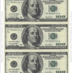 One Hundred Dollar Bill Template Front Download